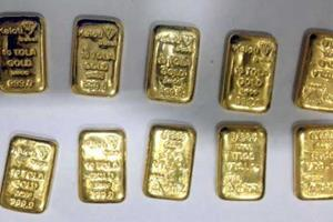 Khabar East:10-kg-gold-seized-in-Kolkata-four-arrests