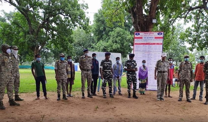 Khabar East:4-naxalites-surrender-in-dantewada-sp-abhishek-pallava-kuaconda-dantewada-naxal-chhattisgarh