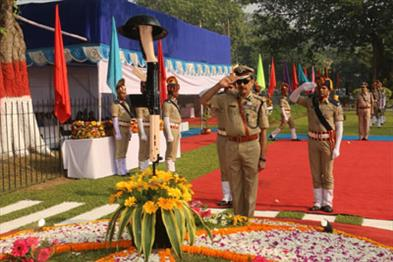 Khabar East:59th-Police-commemoration-Day-celebrated-in-the-state-DGP-paid-tribute
