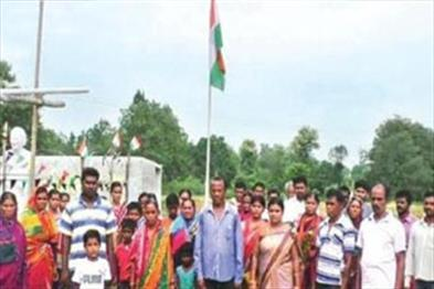 Khabar East:A-village-of-Odisha-where-the-national-anthem-and-national-flag-are-hoisted-every-day