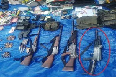 Khabar East:AK-47-weapon-looted-from-Mahendra-Karmas-PSO-recovered-in-encounter-after-seven-years