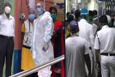 Khabar East:Accused-of-negligence-in-treatment-attack-on-doctor-in-hospital