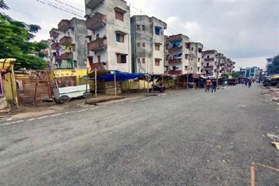 Khabar East:After-the-complete-lockdown-in-Ranchi-there-was-silence-on-the-streets