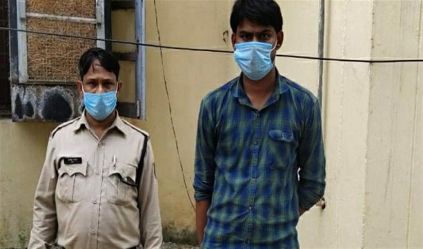 Khabar East:An-accused-arrested-for-threatening-to-kill-a-minor