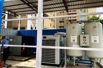 Khabar East:Aria-plant-will-supply-a-large-oxygen-plant-90-jumbo-cylinders-will-be-supplied-every-day