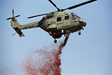 Khabar East:Army-Helicopter-showers-flowers-on-Patna-AIIMS-and-IGIM-in-honor-of-Corona-Warriors