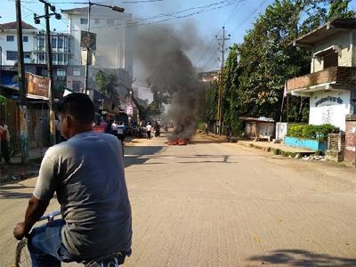 Khabar East:Assam-warmed-up-on-NRC-issue-46-organizations-attacked-Assam