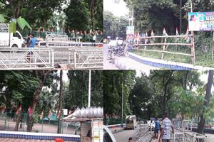 Khabar East:Before-the-meeting-of-Shah-Flag-Flight-started-in-Kolkata