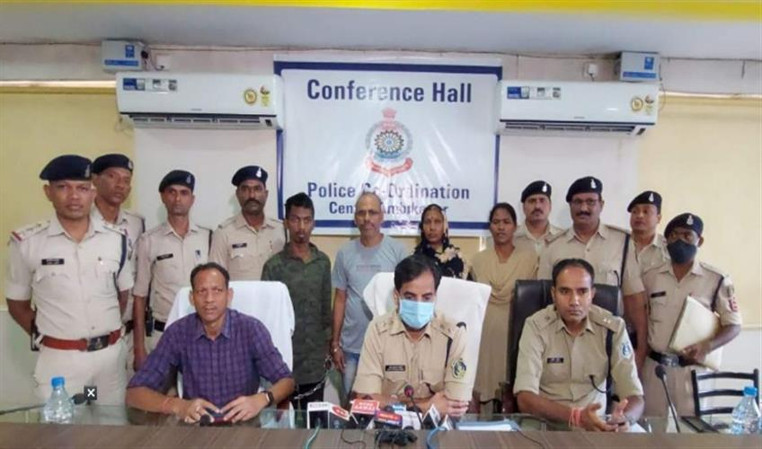 Khabar East:Brown-sugar-and-heroin-worth-one-crore-10-lakh-seized-three-smugglers-including-woman-arrested