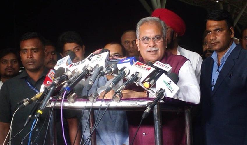Khabar East:CM-Bhupesh-Baghel-said-after-the-conclusion-of-the-assembly-session-said---no-one-will-be-spared-in-the-Sarkeguda-case