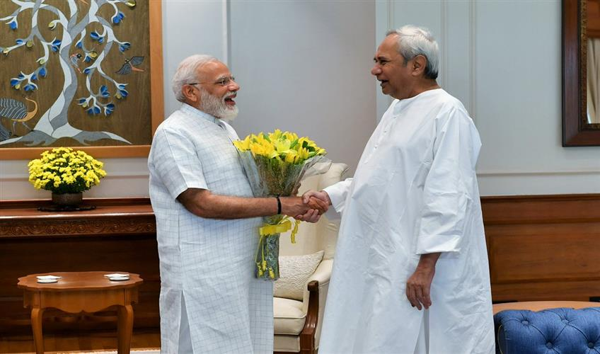 Khabar East:CM-Naveen-Patnaik-meets-PM-Narendra-Modi-demands-special-package-for-cyclone-Foni