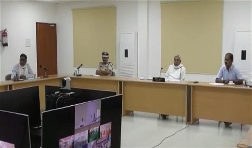 Khabar East:CM-Nitish-reviewed-Quarantine-Center-through-video-conference