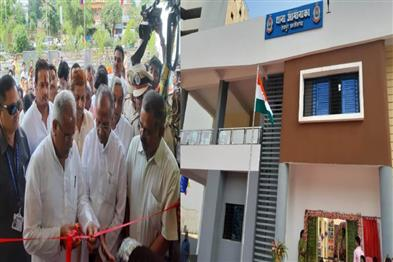 Khabar East:Chief-Minister-Bhupesh-Baghel-inaugurated-the-states-first-model-police-station-building
