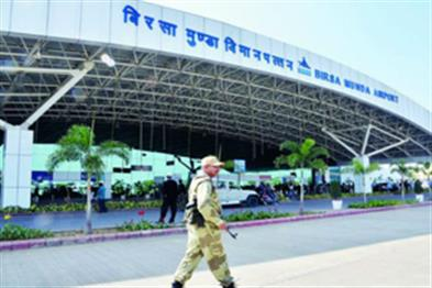 Khabar East:Fire-at-runway-at-Ranchi-airport-avoided-big-accident