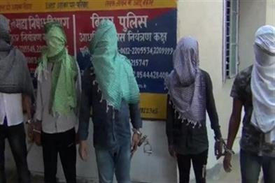 Khabar East:Five-arrested-for-killing-a-bicycle-businessman-looted-cash-and-arms-recovered