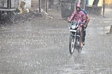 Khabar East:Heavy-rains-occurred-in-many-places-including-the-capital-for-the-next-two-days-of-rain-across-the-state