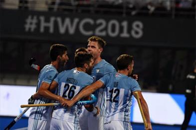Khabar East:Hockey-World-Cup-Argentina-beat-Spain-by-4-3-goal