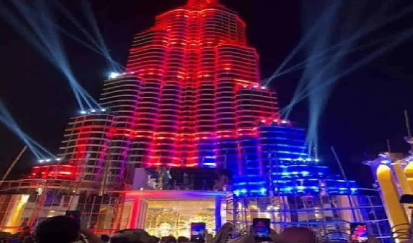 Khabar East:Laser-show-canceled-in-Durga-Puja-pandal-on-the-lines-of-Burj-Khalifa