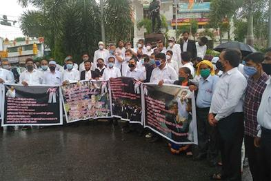 Khabar East:Lawyers-protested-over-the-murder-of-partner-demanded-Advocate-Protection-Act