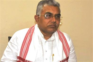 Khabar East:Mamatas-government-is-doing-politics-on-Netaji-Dilip-Ghosh