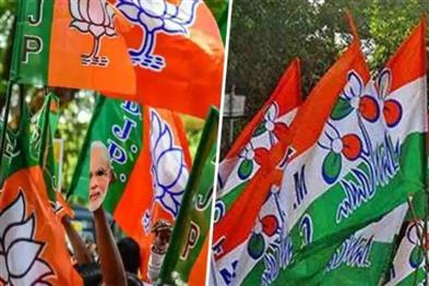 Khabar East:Many-BJP-workers-return-to-Trinamool-after-dharna-in-Bengals-Birbhum