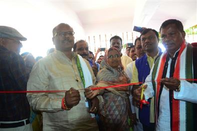 Khabar East:Minister-Lakhma-inaugurated-new-office-of-Bastar-Development-Authority