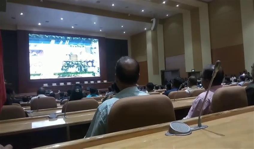 Khabar East:Odisha-CM-Inaugurates-State-Of-The-Art-Convention-Centre-At-Lokseva-Bhavan