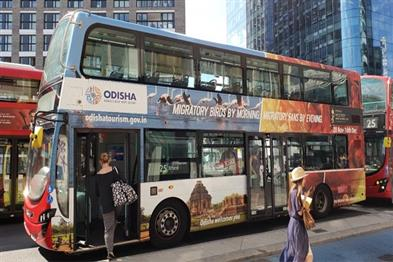 Khabar East:Odisha-government-unveils-bus-advertising-campaign-in-London-to-promote-Mens-Hockeyworldcup2018