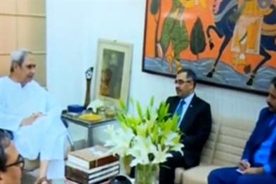 Khabar East:Pakistan-high-commissioner-meets-CM-Patnaik-proposal-for-Indo-Pak-hockey-series