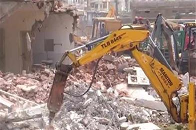 Khabar East:Puri-Demolition-Drive--Encroached-Govt-Land-In-Sea-Beach-Area-Freed-For-Multi-Level-Parking-Space