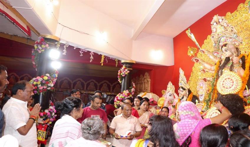 Khabar East:Religion-on-iniquity-truth-on-untruth-symbol-of-victory-of-good-over-evil-Vijayadashami-Raghuvar-Das