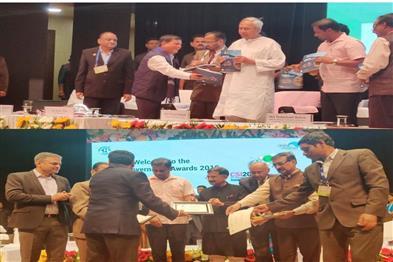 Khabar East:School-Education-Department-of-Chhattisgarh-received-CSI-SIG-e-Governance-Award-in-Bhubaneswar