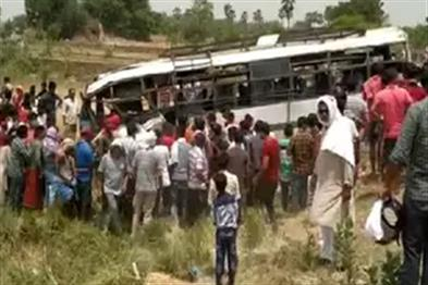 Khabar East:Seven-bus-accidents-kill-speed-six-passengers-die