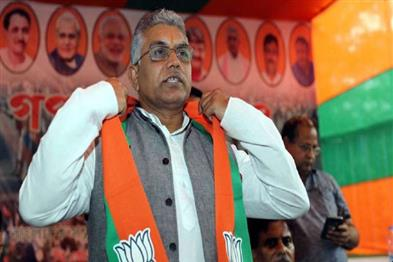 Khabar East:State-BJP-president-Dilip-Ghosh-is-now-prevented-from-entering-Eco-Park