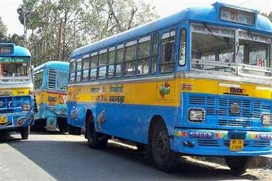 Khabar East:The-problems-of-Kolkata-passengers-reduced-due-to-the-running-of-private-buses
