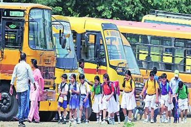 Khabar East:Today-private-schools-will-remain-closed-agitation-on-the-demand-of-waiving-road-tax-of-school-buses