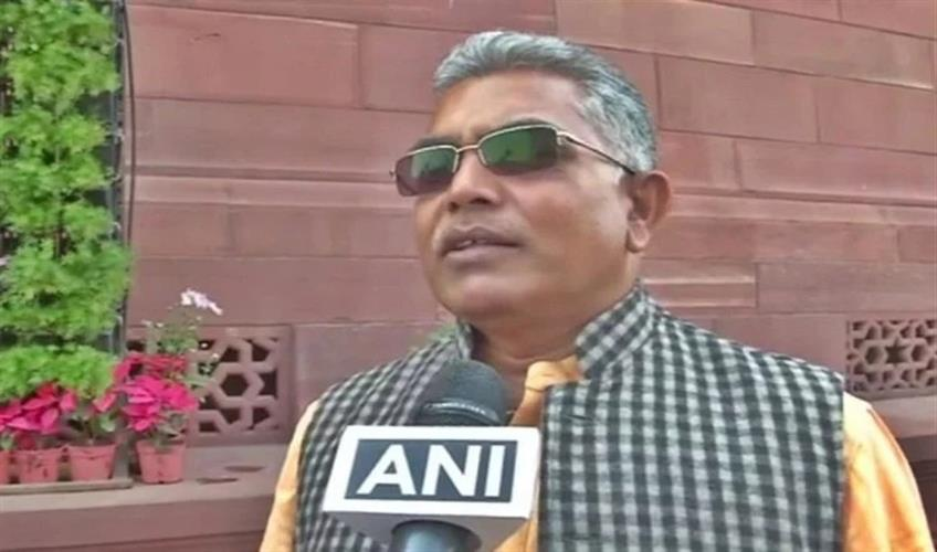 Khabar East:Two-complaints-have-been-lodged-against-Dilip-Ghosh-for-comments-made-against-protesters-regarding-CAA