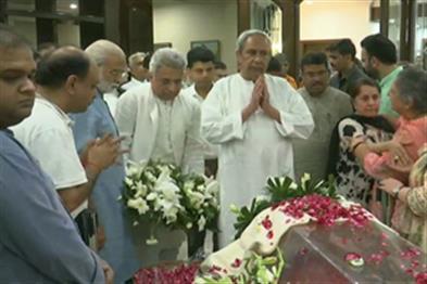 Khabar East:aveen-visits-Jaitleys-residence-pays-tributes